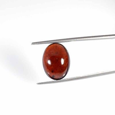 Hessonite Garnet Cabochon 12.73Cts Beautifull~ Natural Oval Loose Gemstone 26-24