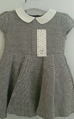 F&F Baby Girl Dress 12-18 Months BNWT!!
