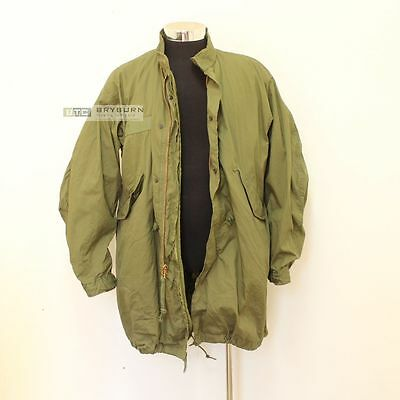 US Issue M65 Fishtail Parka with Liner & Hood -Ex/Small-Reg - Free Overseas Post