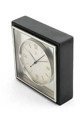 Rare OMEGA Table clock with 8 day movement and jumping second, 1960´s