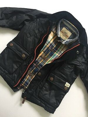 Baby Boys Autumn Winter Jacket And Check Long Sleeve Shirt NEXT Age 18-24 Months