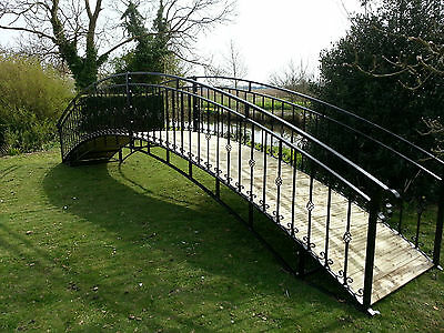 26ft Steel Garden Bridge | ANY SIZE | ANY COLOUR | FREE DELIVERY