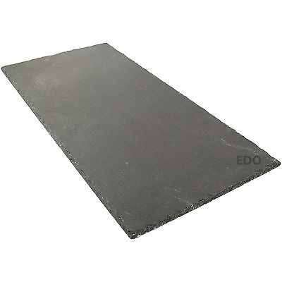 Natural Slate Table Runner Placemat Cheese Platter Kitchen Dining Serving Board