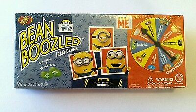 ☆NEW☆ USA JELLY BELLY BEAN BOOZLED MINION EDITION SPINNER WHEEL 99g