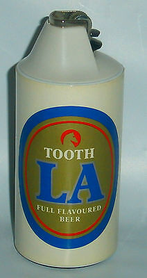 Original Tooth LA Beer Table Lighter by Cricket for collector or home bar Rare