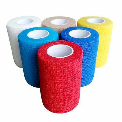 Vivorip Sports Elastic Cohesive Bandage 7.5cmx4.5M Tape First Aid Strapping Band