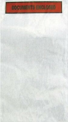 Documents Enclosed Self-Adhesive Parcel Invoice Receipt Envelope A4 | Office