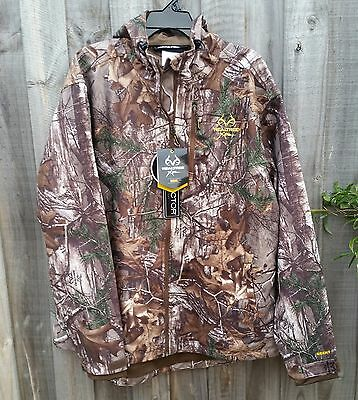 Scent Control Realtree Xtra Camo WATERPROOF Hunting Jacket with Hood - XL