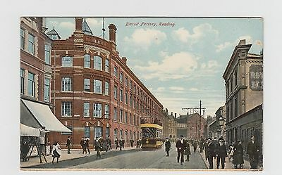 Reading, Biscuit Factory Postcard  used 1922  Good condition