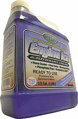 Engine Ice Hi-Performance Motocross Engine Coolant 1/2 gallon MX/Enduro/Off-Road