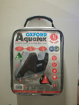 OXFORD CV205 Cover Aquatex size L with Top Box Waterproof