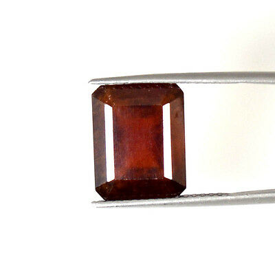 12.57Cts STUNNING NATURAL QUALITY HESSONITE GARNET OCTAGON CUT GEMSTONES 68-52