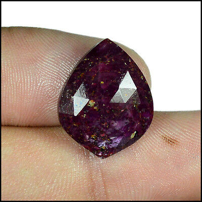 RUBY ROSE CUT 11.00Cts NATURAL AWESOME FANCY GEMSTONES AB07-40
