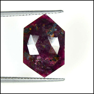RUBY ROSE CUT 5.67Cts NATURAL AMAZING SHAPE FANCY GEMSTONES AB07-87