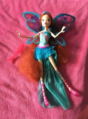 💚Jakks Pacific Harmonix Bloom  Winx Doll Slightly Used Condition !!💙