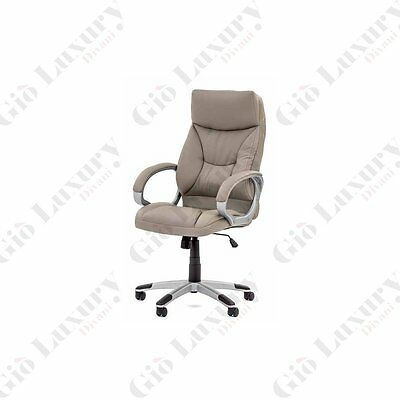 """""""directional Upholstered Armchair """"""""zurigo"""""""" With Structure In Abs In Silver"""""""
