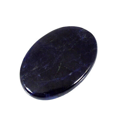 SODALITE CABOCHON 31.34Cts NATURAL BLUE OVAL GEMSTONES 80-36