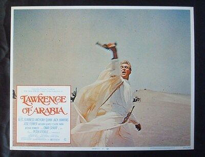 Orig 1971 **LAWRENCE Of ARABIA** Re-Release 11x14 Lobby Card LEAN NSS LC R71/44