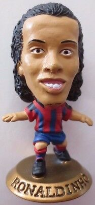 Ronaldinho 2004 FC Barcelona Football Corinthian Figure Gold Base MC2135, Brazil