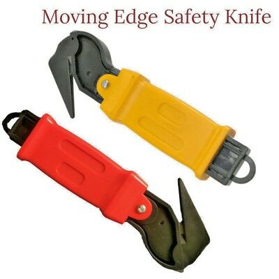 Lot Moving Edge Safety Knife Box Opener Seat Belt Cutter Shrink Wrap Tape Cutter