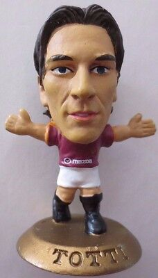 Francesco Totti 2003 Roma Football Corinthian Figure Gold Base MC1385, Italy FA