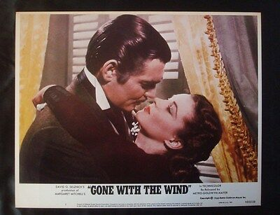 Original 1980 *GONE With The WIND* Re-Release 11x14 Lobby Card NSS LC R800158