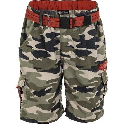 Outdoor Expedition Get Out Shorts - Kids, Camo, 7