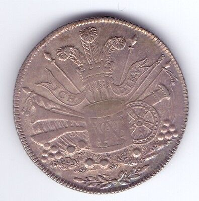 (rare rare) SUFFOLK IPSWICH SILVER SHILLING TOKEN 1811 (the 2nd of D.1)