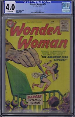 Wonder Woman #79 DC Pub 1956 CGC 4.0 (VERY GOOD)
