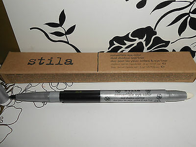 Stila Convertible Eye Color Dual Shadow & Liner Shade Onyx