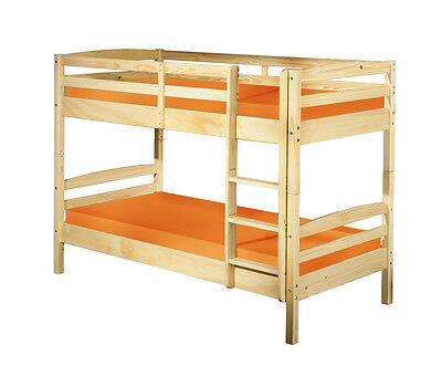 Salvador 90X190  Bunk Bed With Possibility Of Transformation In 2 Single Beds.