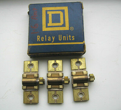 Square D Relay Units 2-B.57 165 Relay Units Engineering Part Contactors Starters