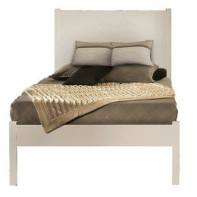 Bed, Classic Style, Solid Wood And Mdf - Meas. 100X212X115H 100% Made In Italy