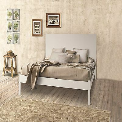 Bed, Classic Style, Solid Wood And Mdf - Meas. 174X212X115H 100% Made In Italy