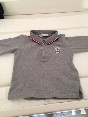 Baby Boys Moncler Long sleeved top