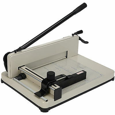 New 400 Sheets 12'' Paper Cutter Metal Base Trimmer Scrap Booking Industrial New