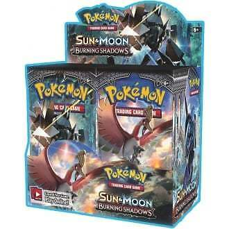 Pokemon Sun and Moon: Burning Shadows Booster Box