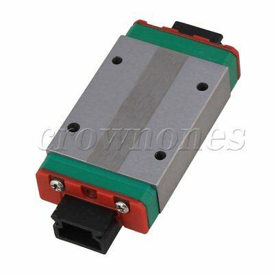 Mini MGN15H Extension Guide Rail Sliding Block for Linear Sliding Device