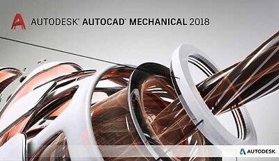 AUTODESK | AutoCAD Mechanical 2018 | 3 Years license | Win | FAST DELIVERY✔SALES