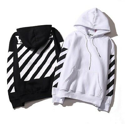 Off White Hoodie Virgil Abloh Pyrex Vision Street Wear Jumper Sweatshirt