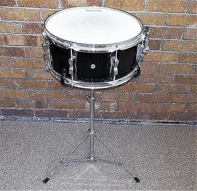 LUDWIG ACCENT CS COMBO SNARE DRUM WITH STAND - 14x6 - BLACK