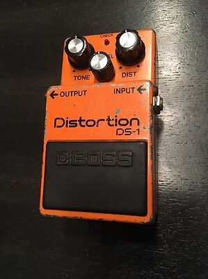 Boss DS-1 Distortion Vintage 1984 Made In Japan #437600