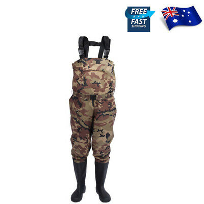 Affordable Chest Waders Waterproof Breathable Fishing Waders with Stocking Foot