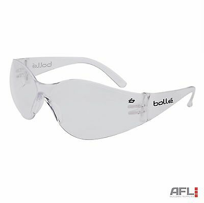Bolle Bandido Anti-Fog Anti-Scratch Safety Spectacles Glasses - Clear Lens