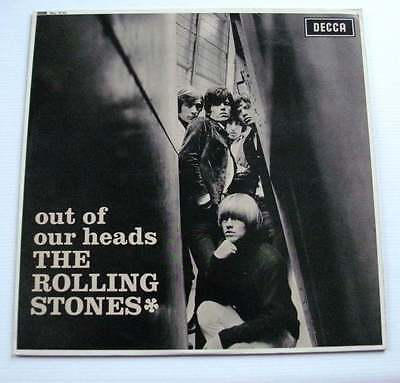 The Rolling Stones Out Of Our Heads Scarce Decca Stereo Lp 1965
