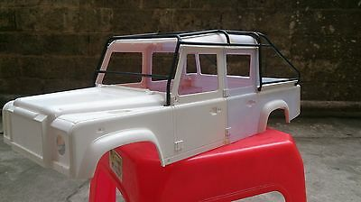 Roll Cage Luggage Tray For 1/10 RC Land Rover Defender D110 PickUp Truck Body