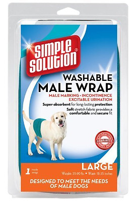 *BEST Dogs Nappy Nappies Washable Male Dog Diaper Belly Urinate Pee Band Large