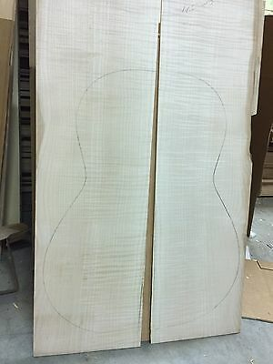Curly Maple Guitar Back And Side Set