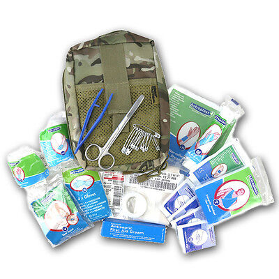 Btp Camo Medic Deluxe First Aid Pouch Pocket British Army Multicam Mtp