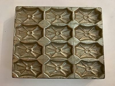 Antike Schokoladenform Pralinenform Chocolate mold